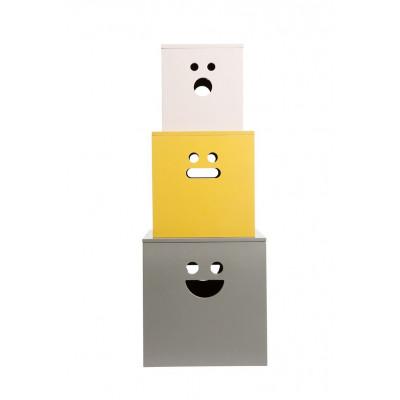 Face Storage Boxen Farbig