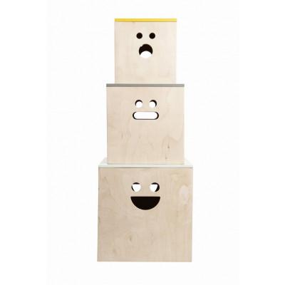 Gesicht Aufbewahrungsboxen