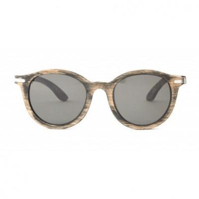 Faith Wooden Sunglasses   Vintage Black
