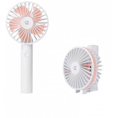 Kabelloser Tragbarer Ventilator | Rosa