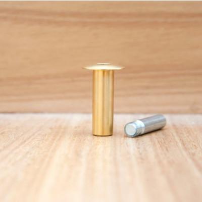 Magnetic Doorstop Fantom | Brass