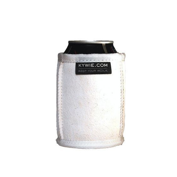 Koozie Durable Can Coolers Of Wool   White