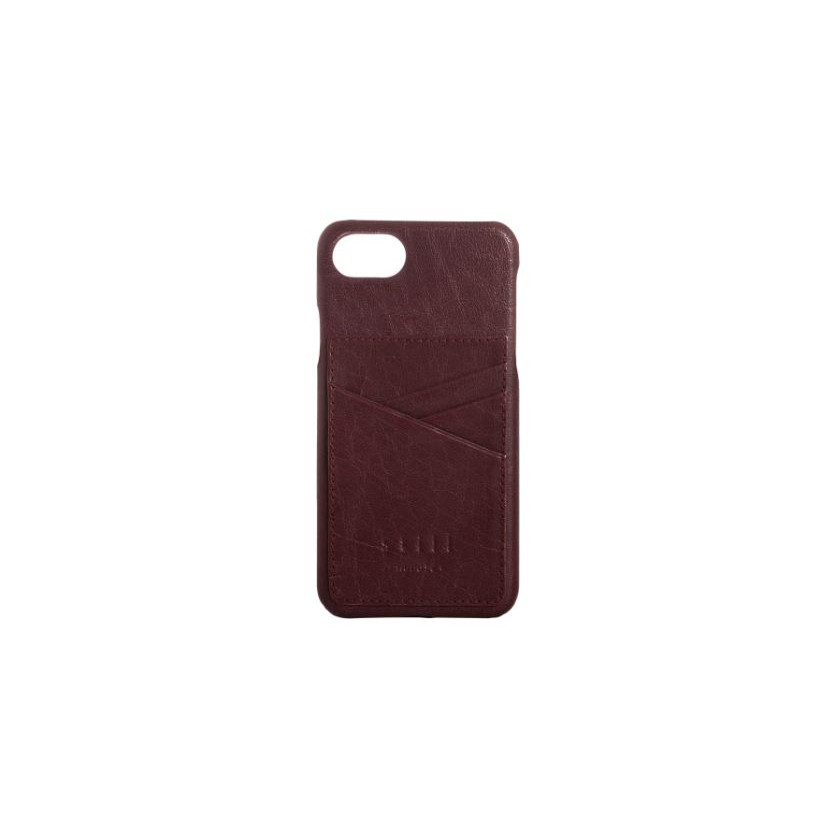 iPhone Cover Clean SnapOn Cardcase 3cc | Zinfandel