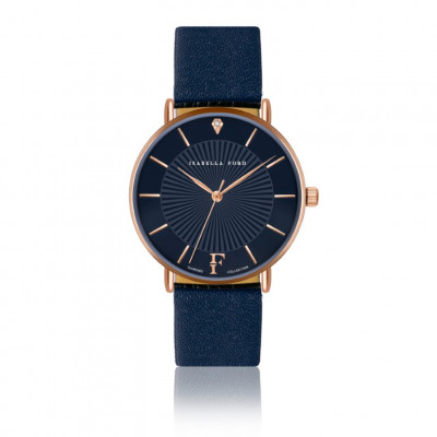 Armbanduhr Florence Blau