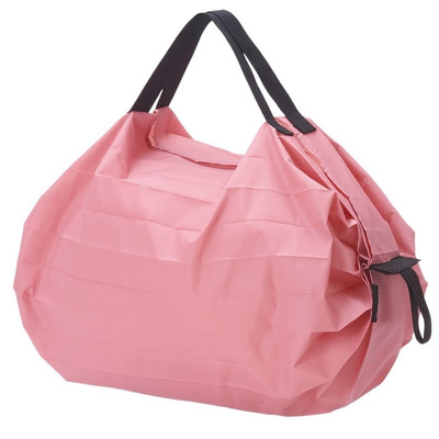 Compact Foldable Shopping Bag Peach (Momo) | S (3 kg/ 7.5 L)