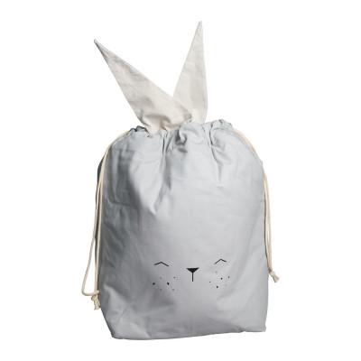 Aufbewahrungstasche Large | Kaninchen Grau