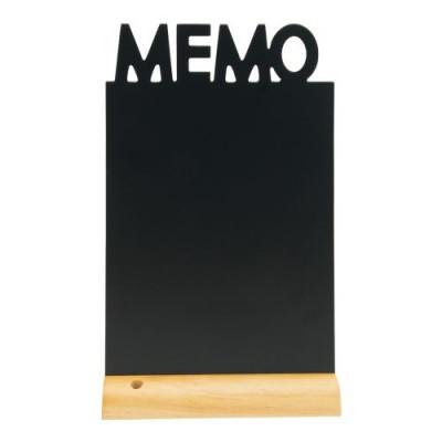 Kreidetafel für Tisch-Memo