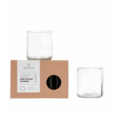 2er-Set Gläser   Klar - S
