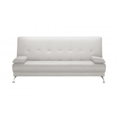 2-Sitzer-Sofa Midnight | Faltbar | Weiß