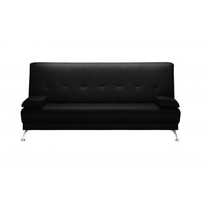 2-Sitzer-Sofa Midnight | Faltbar | Schwarz
