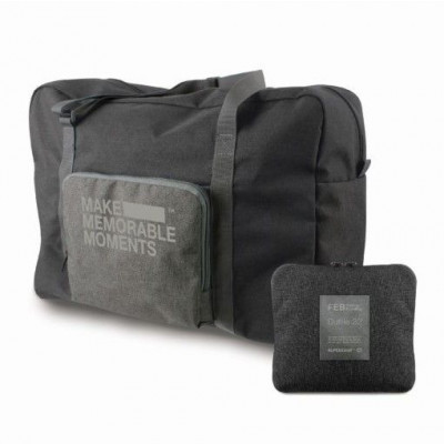 Feb Duffle Bag | Grey