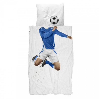 Bettbezug Soccer Champ | Blau