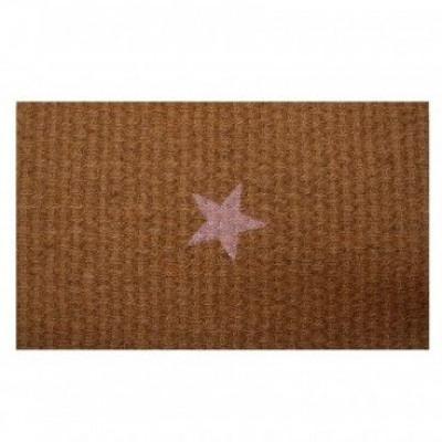 Doormat Pink Star