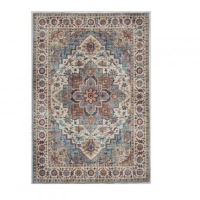 Fenix Teppich | Blau