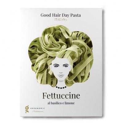 Pasta Bio Fettuccine Good Hair Day | Al Basilico e Limone