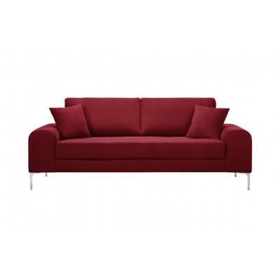 3-Sitzer-Sofa Dillinger | Glamour-Rot