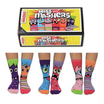 Damen Geschenkbox 6er Pack Socken Miss   37-42