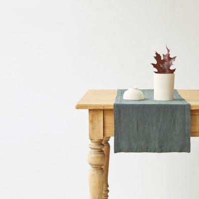 Tischläufer 150 x 40 cm | Waldgrün