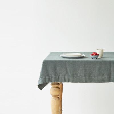 Tischdecke 140 x 140 cm | Waldgrün