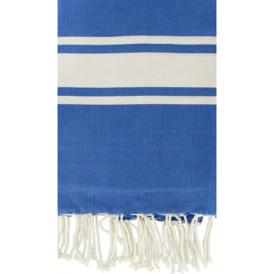 Fouta Griechisch Blau