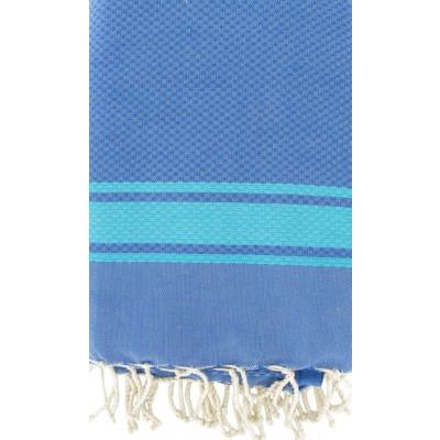 Fouta Griechisch Blau & Türkis