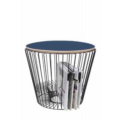 Round Tray L | Blue