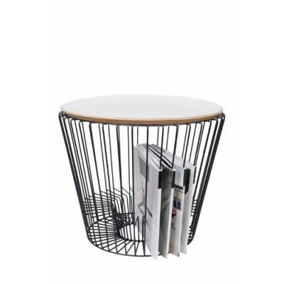 Round Tray L | White