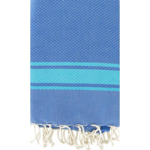 Fouta Greek Blue & Turquoise