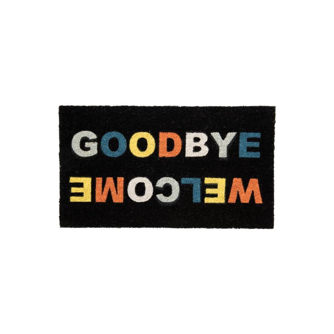 Fußmatte 'Welcome/Goodbye'