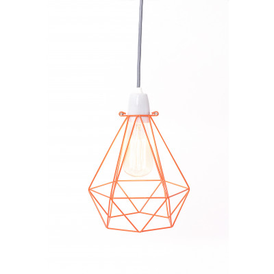 Diamant #1 | Käfig Orange Kabel Grau