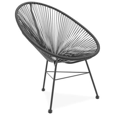 Stuhl Acapulco Silla | Schwarz