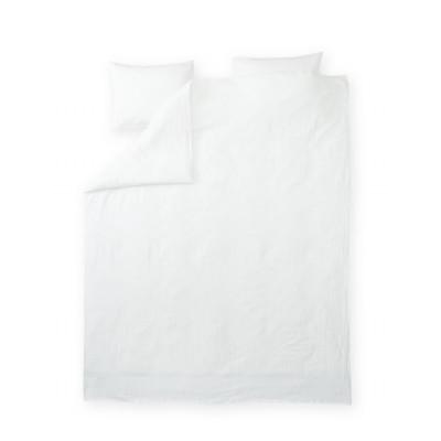 Double Duvet Cover Set Lino | White
