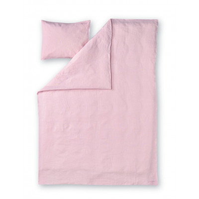 Duvet Cover Set Lino | Pink