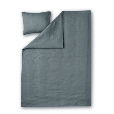 Duvet Cover Set Lino | Dark Grey