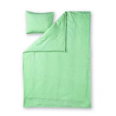 Duvet Cover Set Lino | Light Green