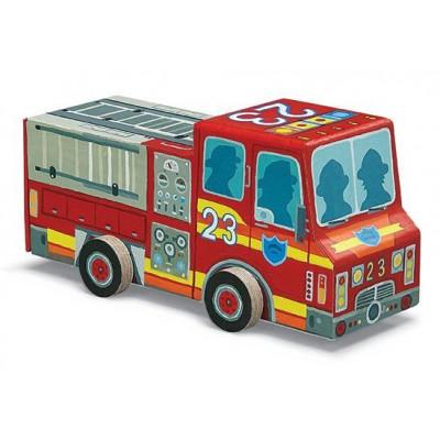 48 Pieces Puzzle | Fire Truck