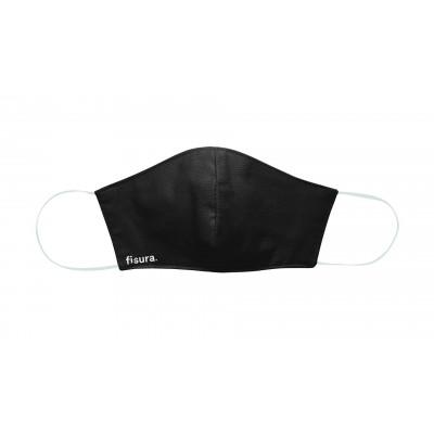 Gesichtsmaske | Schwarz XL