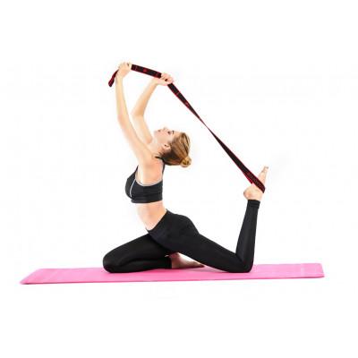 Yogaband   Schwarz & Rot