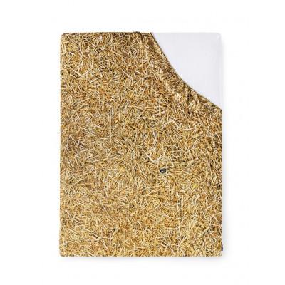 Spannbetttuch | Stroh-140 x 200