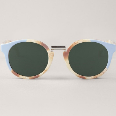 Fitzroy Sunglasses   Light Blue & Marble
