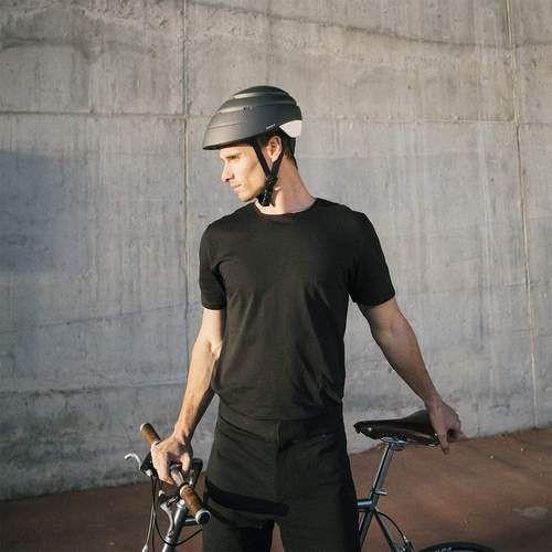 Foldable Helmet Closca Loop   Fossil Grey/Mustard