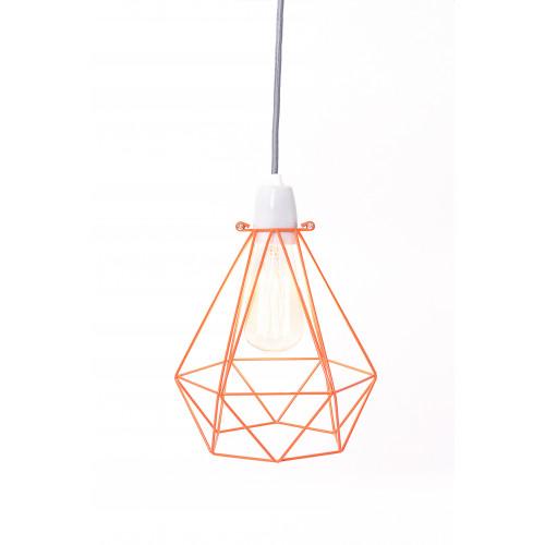Diamant #1   Käfig Orange Kabel Grau