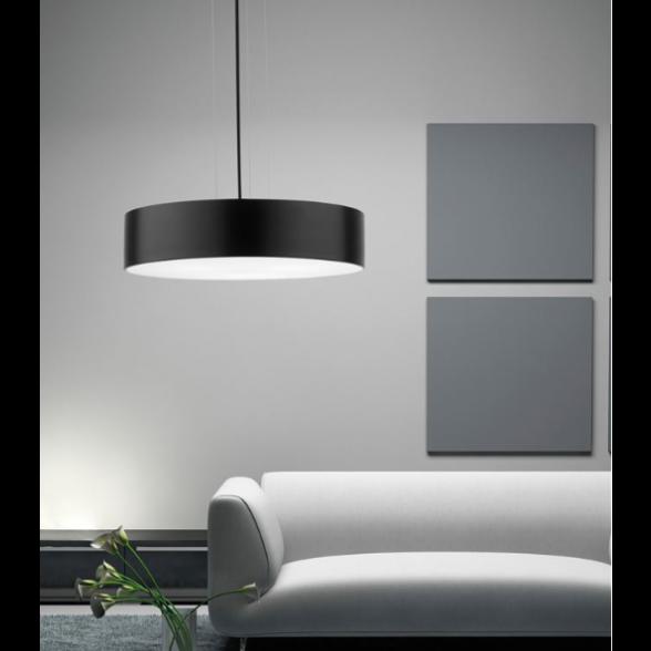 Deckenlampe Finezza | Dunkelgrau