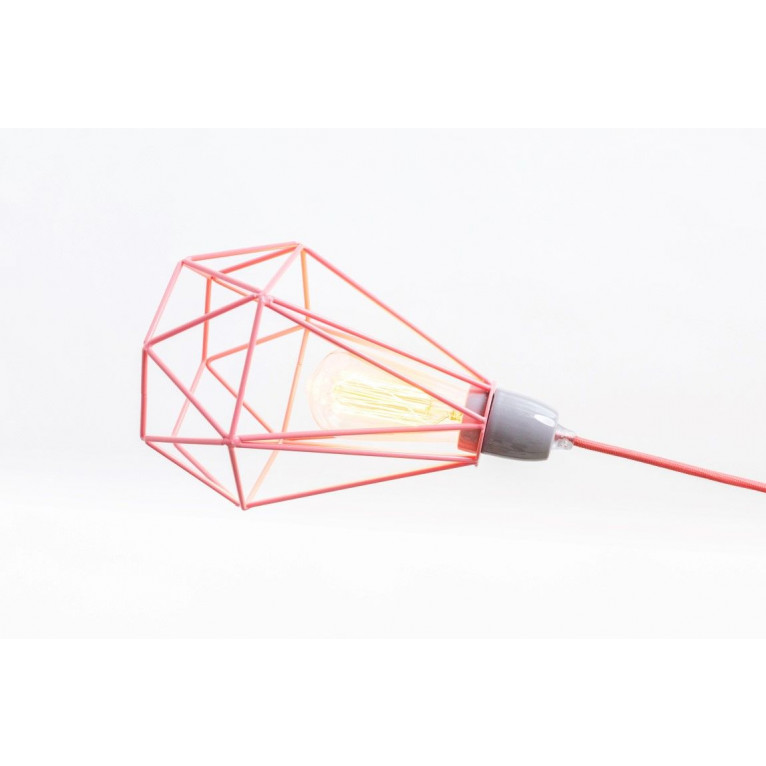 Diamant #1 | Käfig rosa Kabel rosa