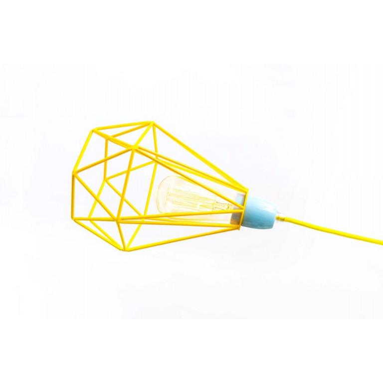 Raute Nr. 1   Käfiggelbes Kabel Gelb