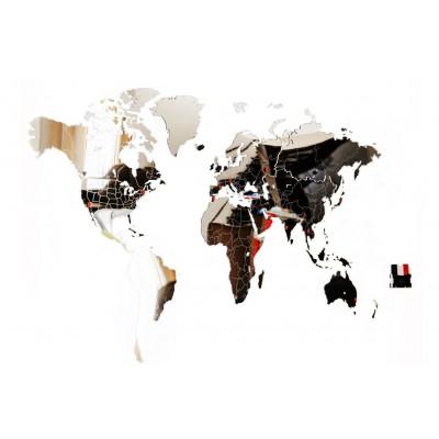 Exclusive World Map 130 x 78 cm   Mirror