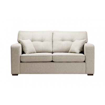 2-Sitzer-Sofa Melvin | Faltbar | Creme