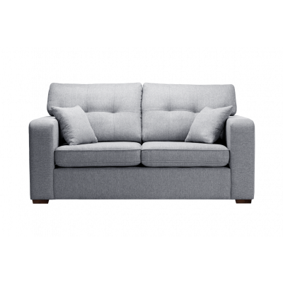 2-Sitzer-Sofa Melvin | Faltbar | Hellgrau