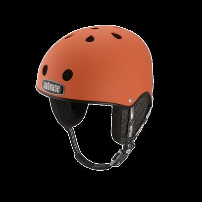 Snow Helmet   Dutch Orange