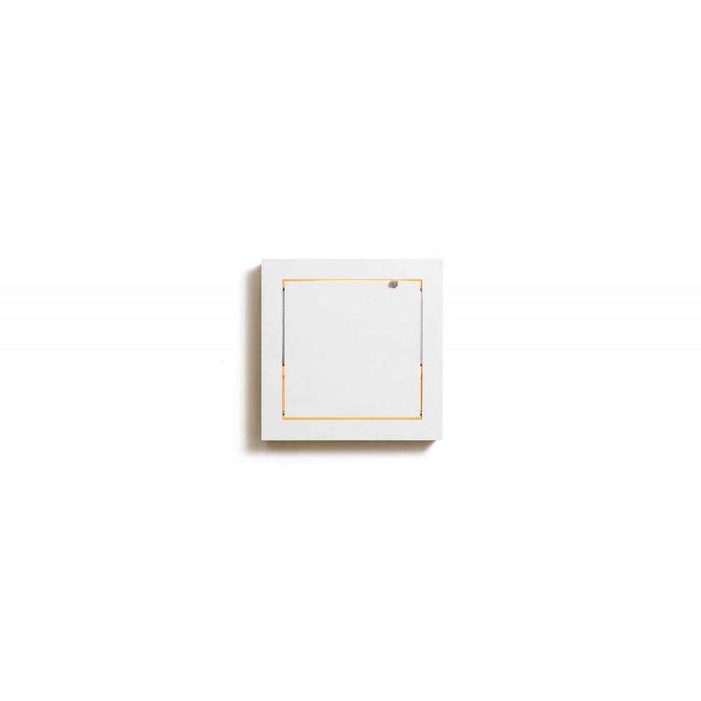 Schminkspiegel mit Leucht Fläpps | Weiß